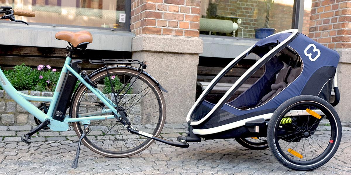 Choix d'une remorque vélo bébé